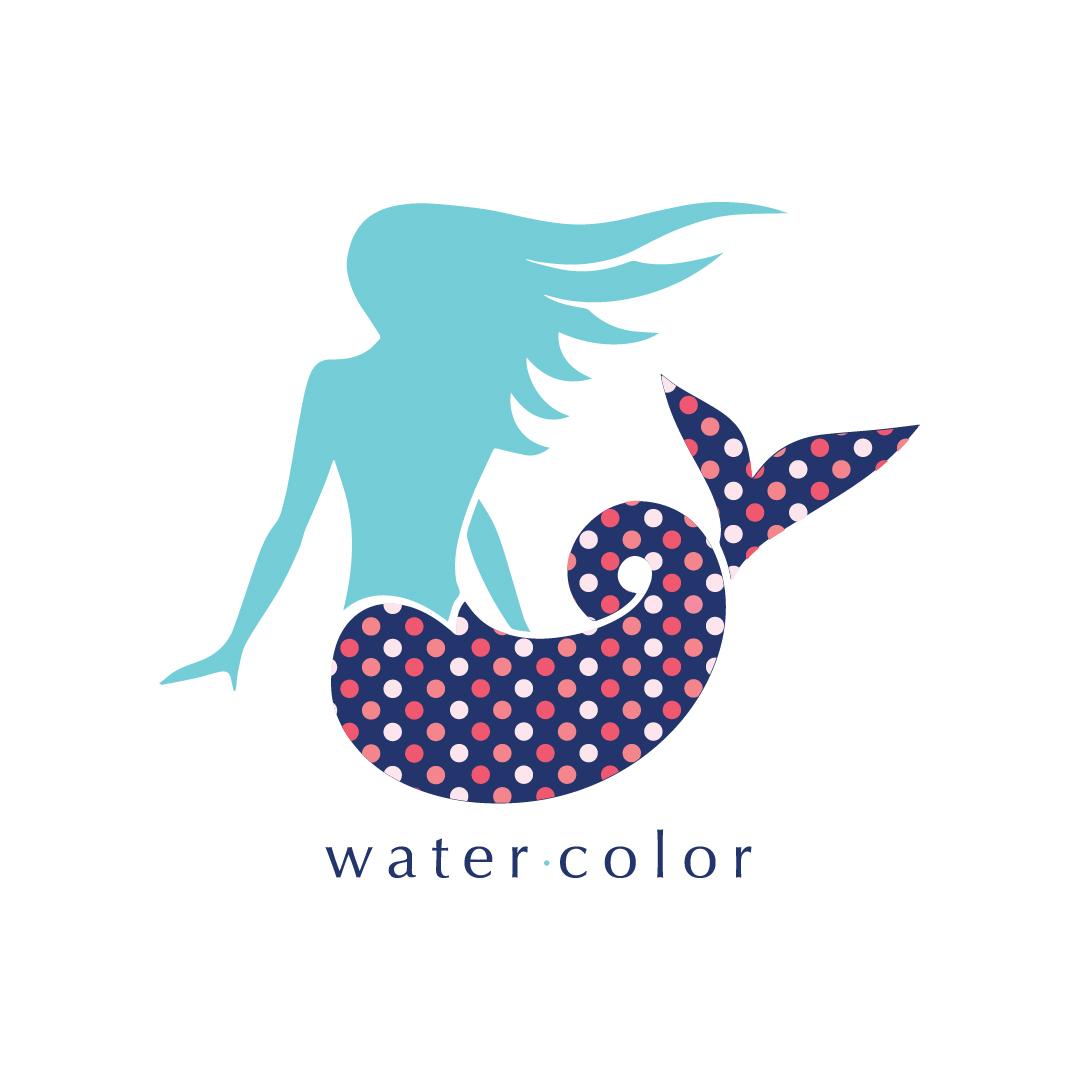 watercolor logo