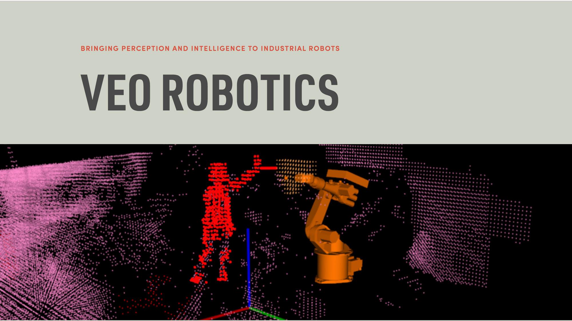Squarespace website design by Caitilin McPhillips for Veo Robotics.