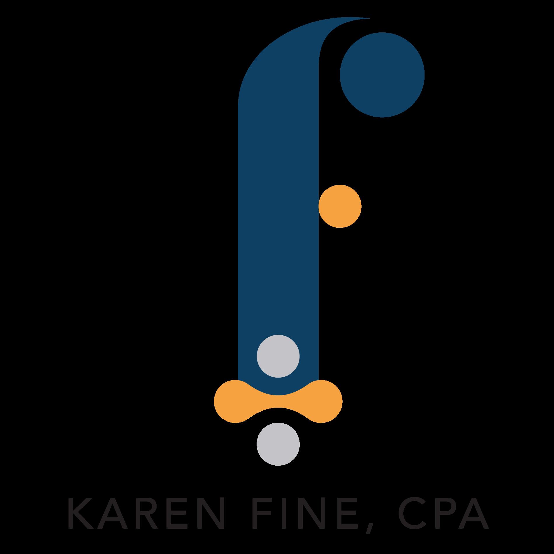karenfinecpa.com logo