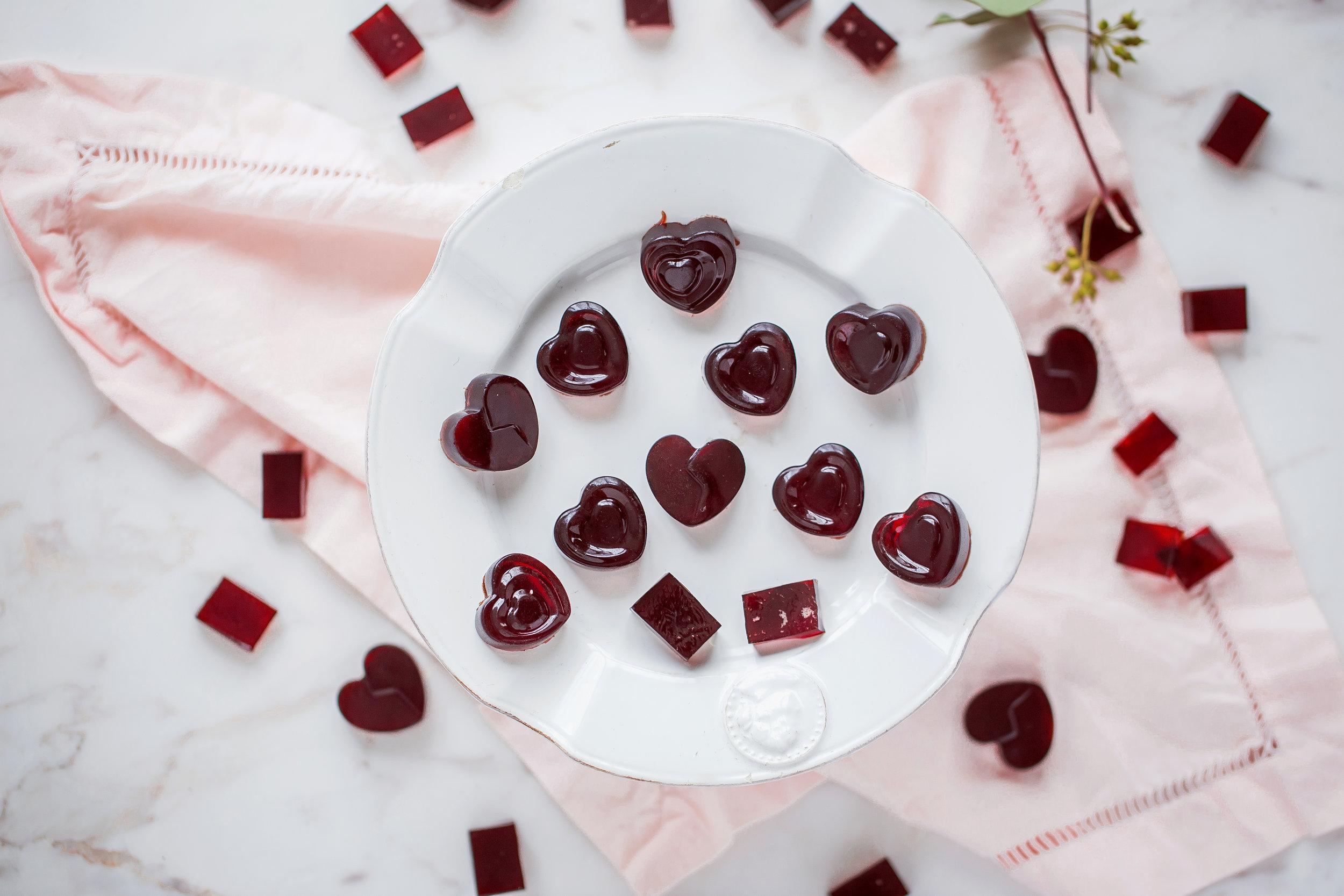 Công thức Kẹo gôm rượu vang tại trang fanpage của Kitchen Art