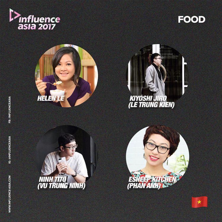 Top 4 đề cử hạng mục Food
