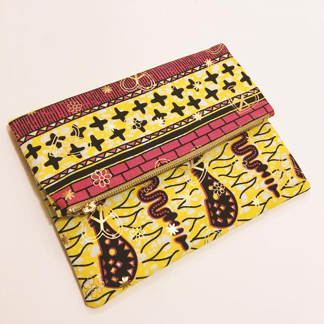 Handbag made by Shirley, Owner/Designer of Inoshi & Imani