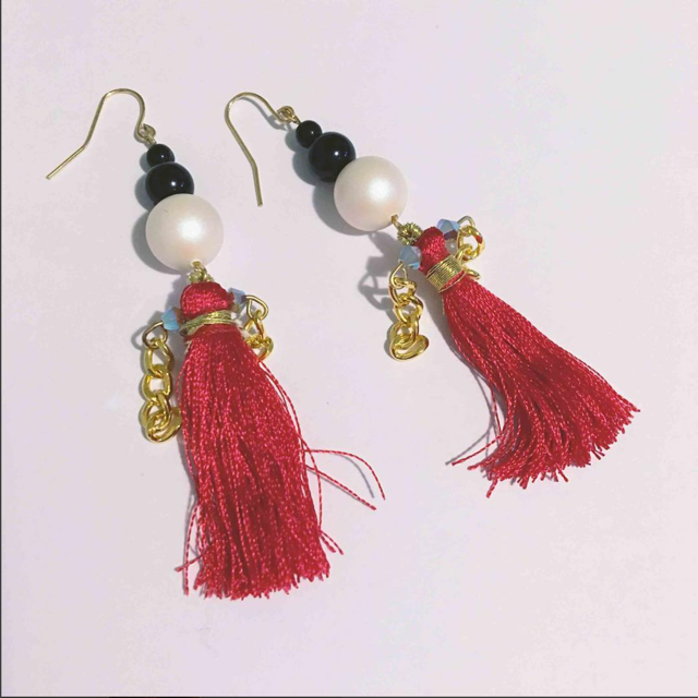 Accessories made by Shirley, Owner/Designer of Inoshi & Imani