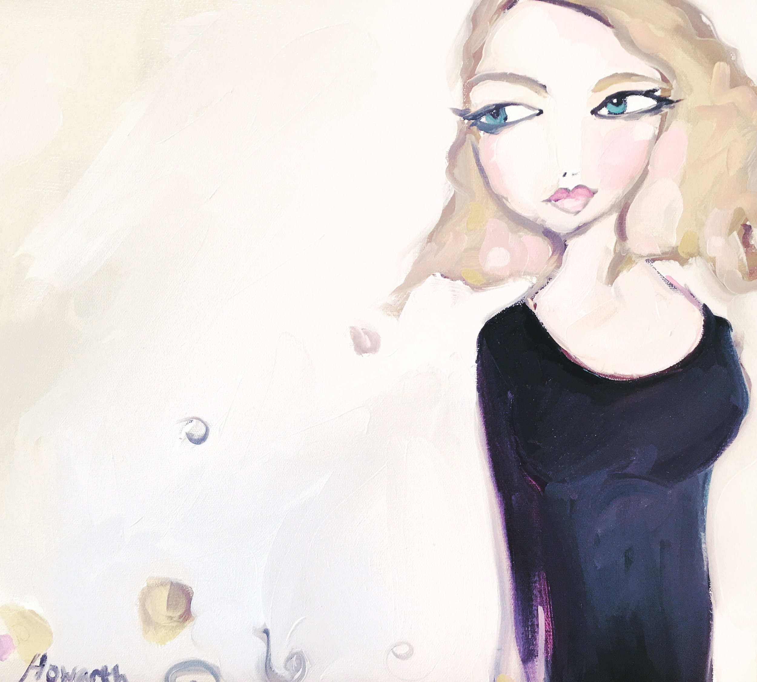 Fashion Painting by  Katrina Howarth