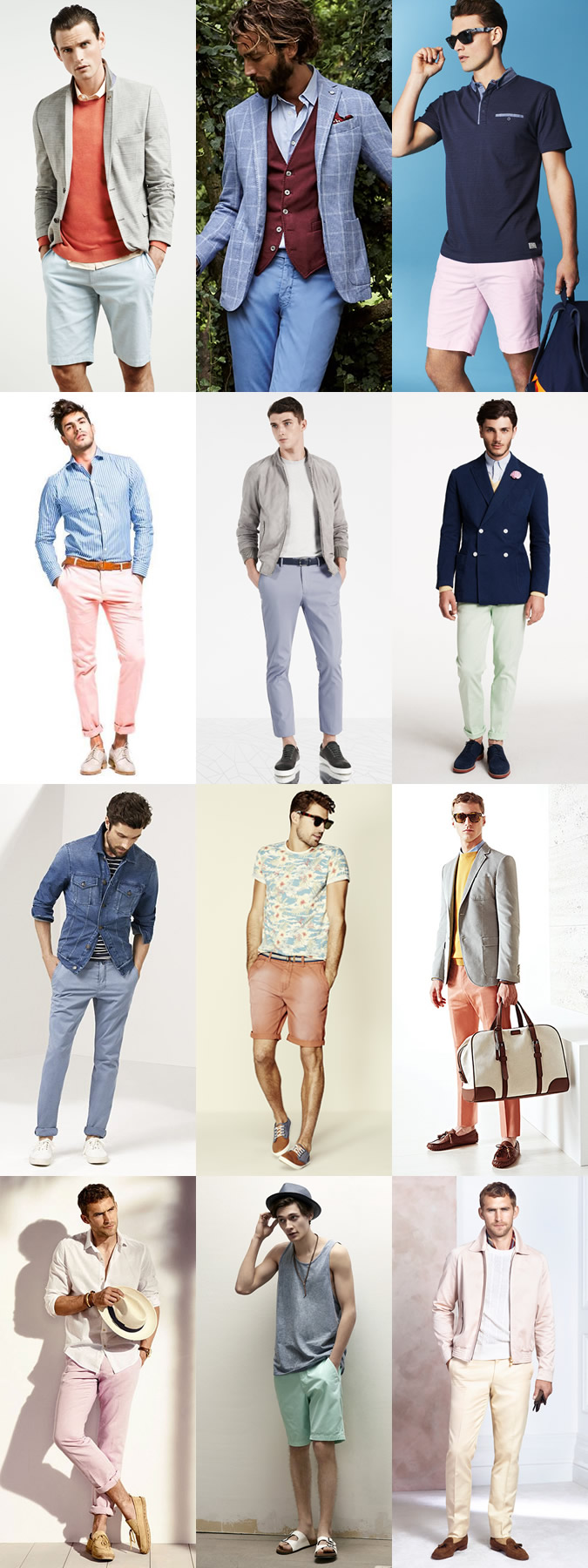 Pastel Colors and Light Colors look great on  Lighter Complexions.