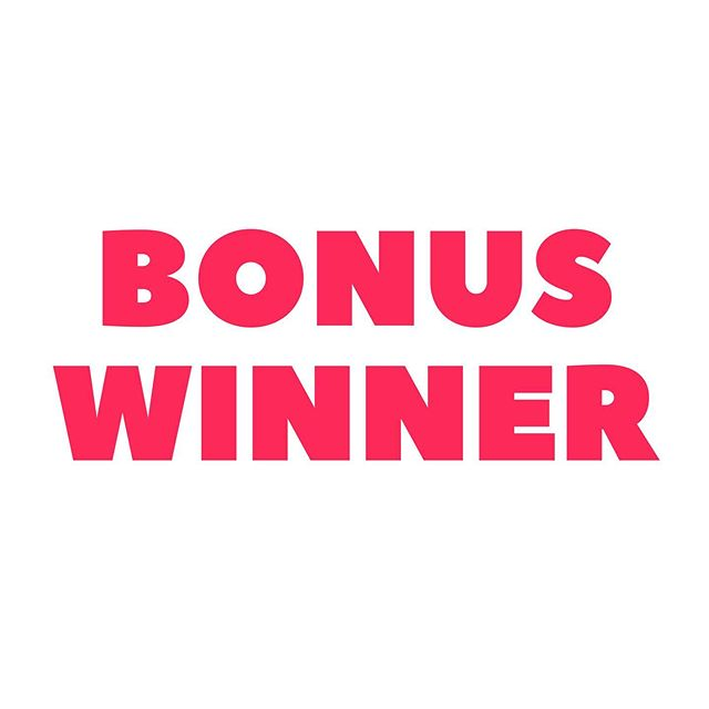 Announcing the bonus winner, @anne_pott ! Congratulations! And thank you to everyone who entered the contest! There will be lots more chances to win more dollar store gift cards, so keep your eyes peeled!!! 🥳