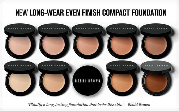 Long-Wear Even Finish Compact Foundation - Bobbi Brown