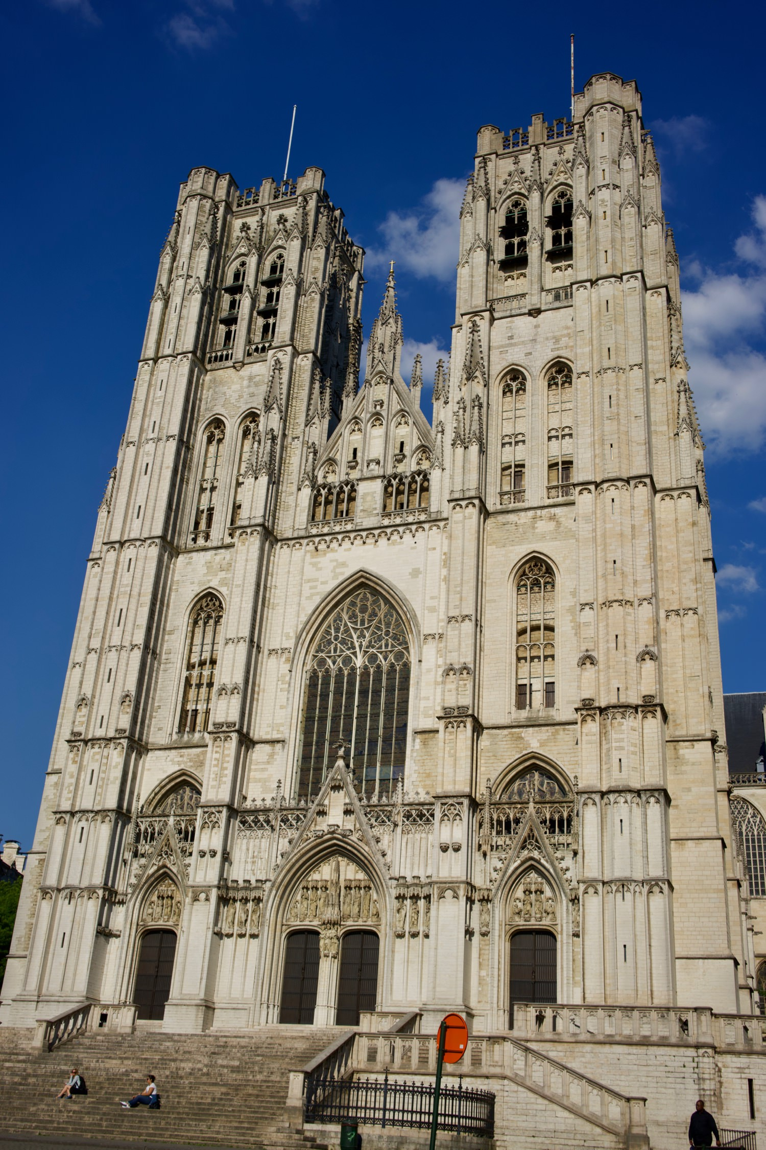 The Cathedral of St Michael and St Gudula, Brussels.