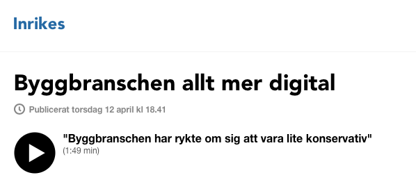 Sveriges Radio - Ekonomiekot