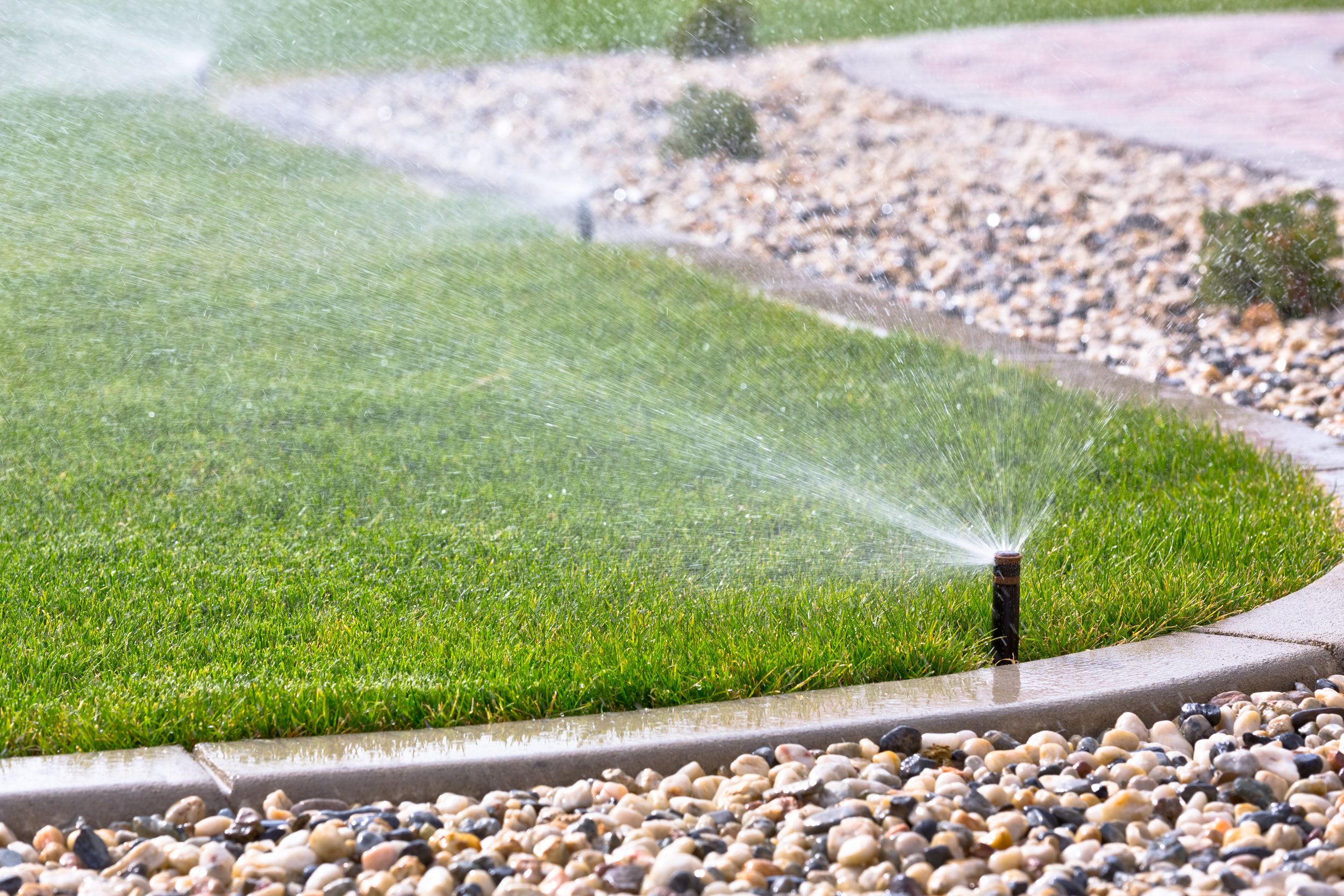 Irrigation - Sprinkler systems and irrigations needs