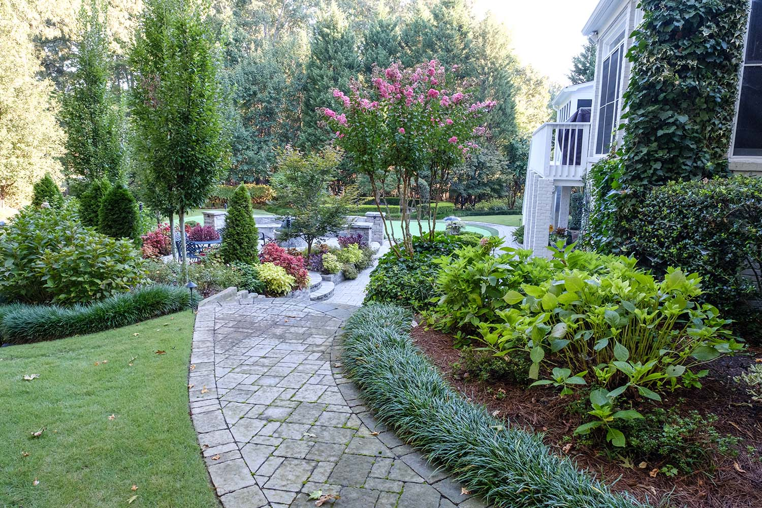Landscaping - Masterful landscape installations