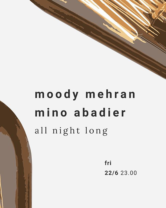 Oosterbar w/ @moody.mehran & @minoabadier - all night long...