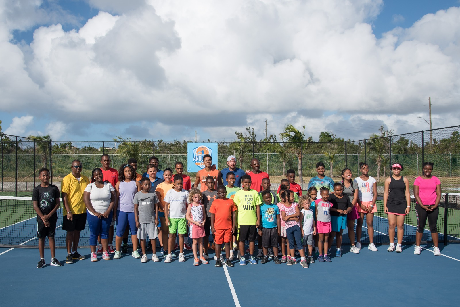 Head Coach Xavier Malisse - former Top 10 ATP - led the Anguilla Cup Junior Camp