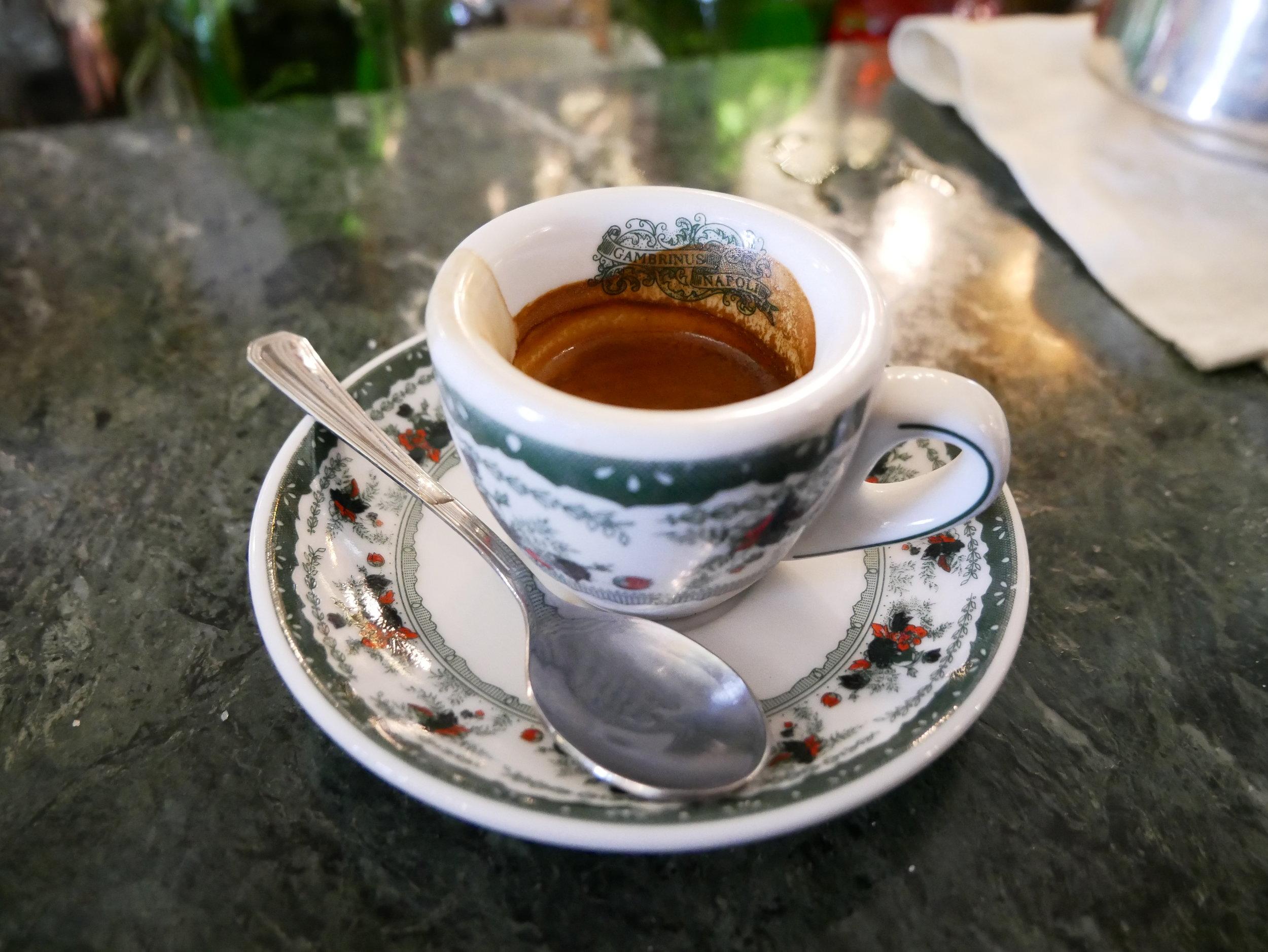 Gran Caffe Gambrinus espresso.jpg