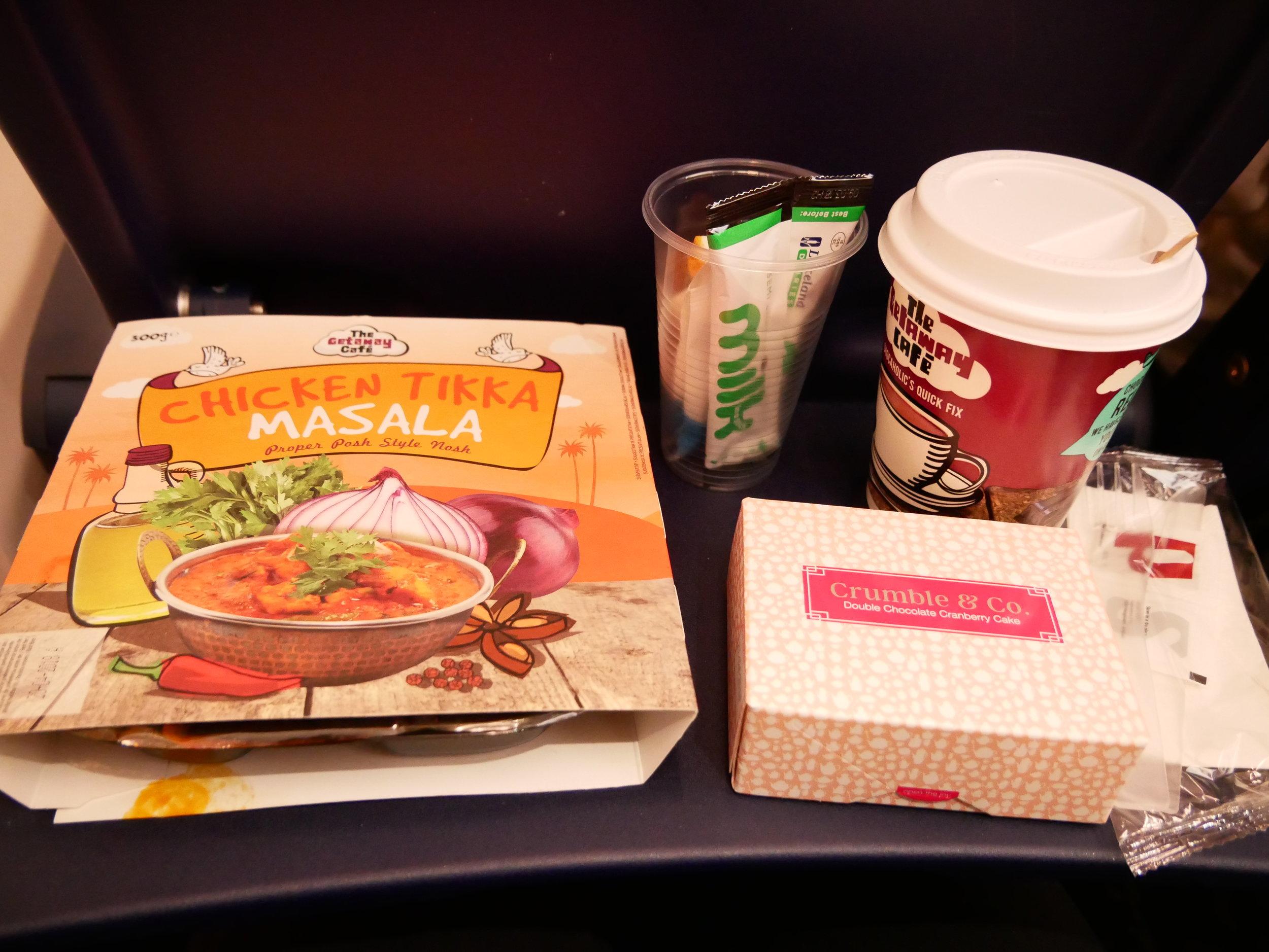 Ryanair Chicken Tikka Masala meal packaging.jpg