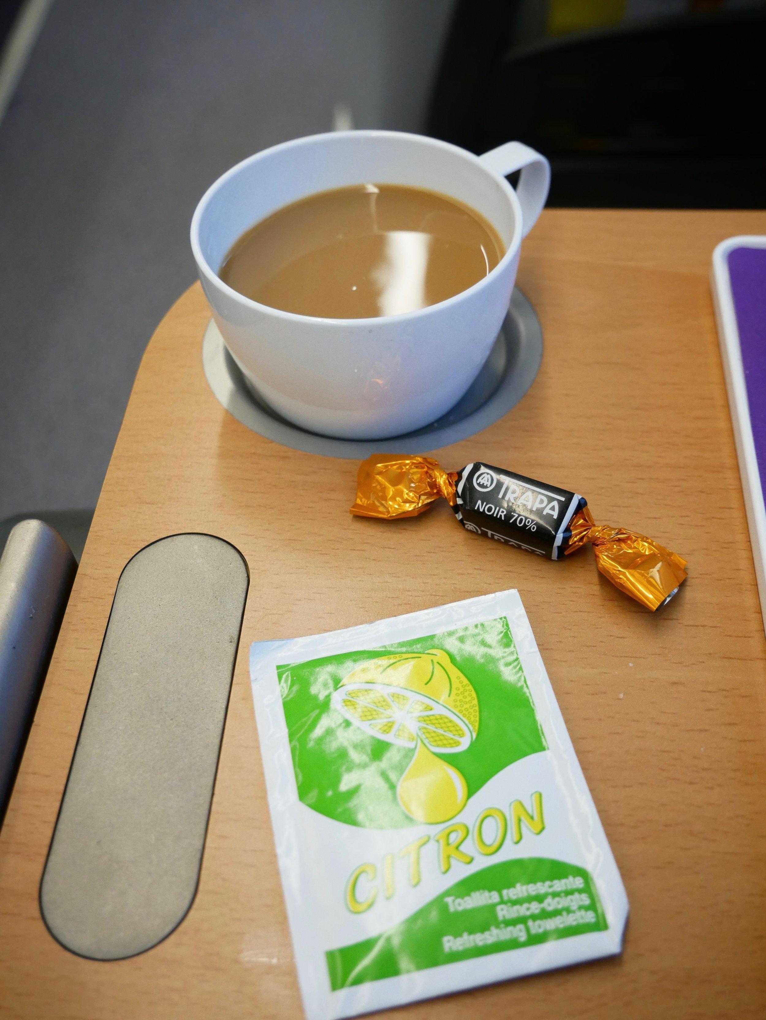 Euromed breakfast second beverage