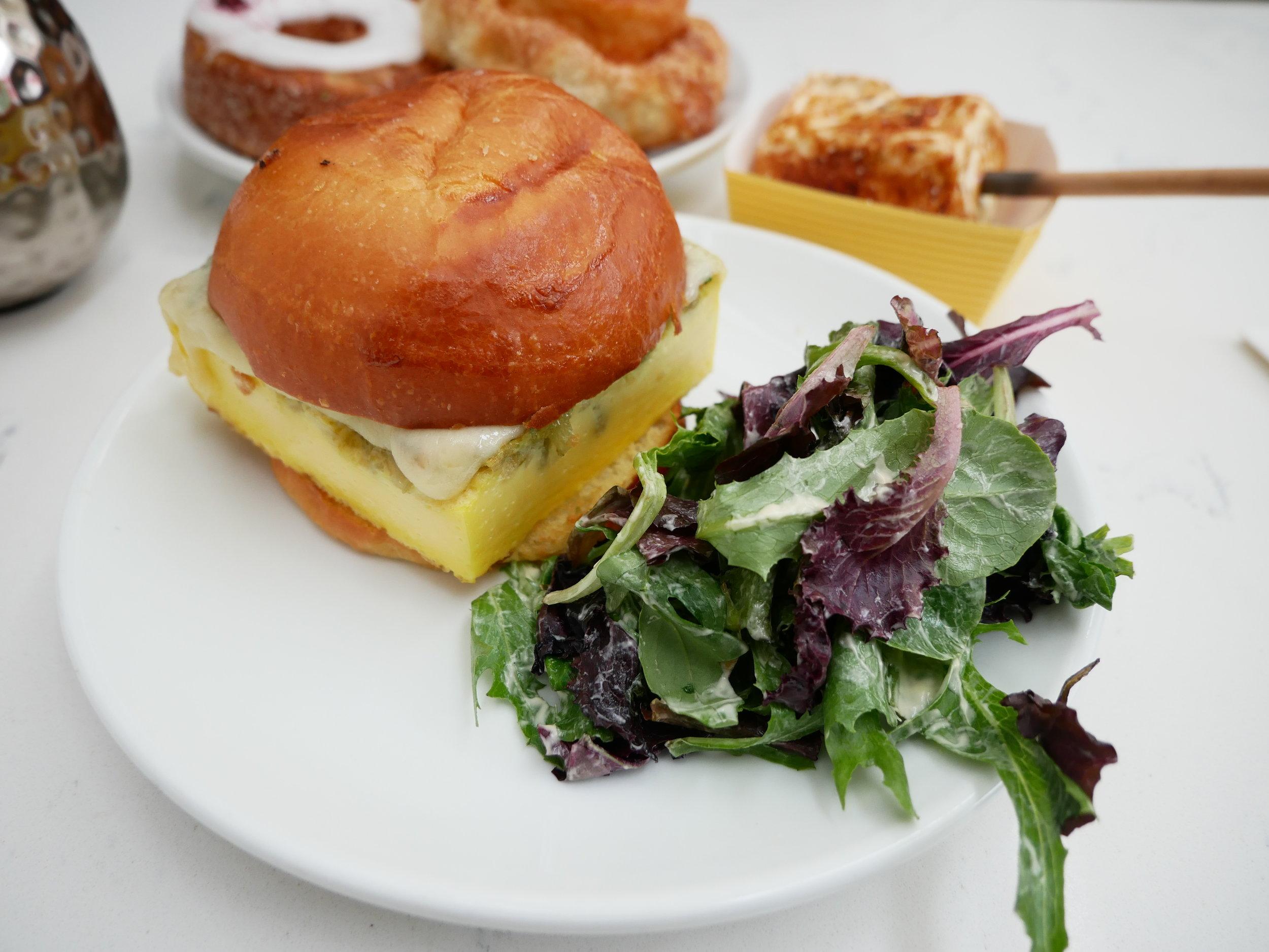 Perfect Little Egg Sandwich