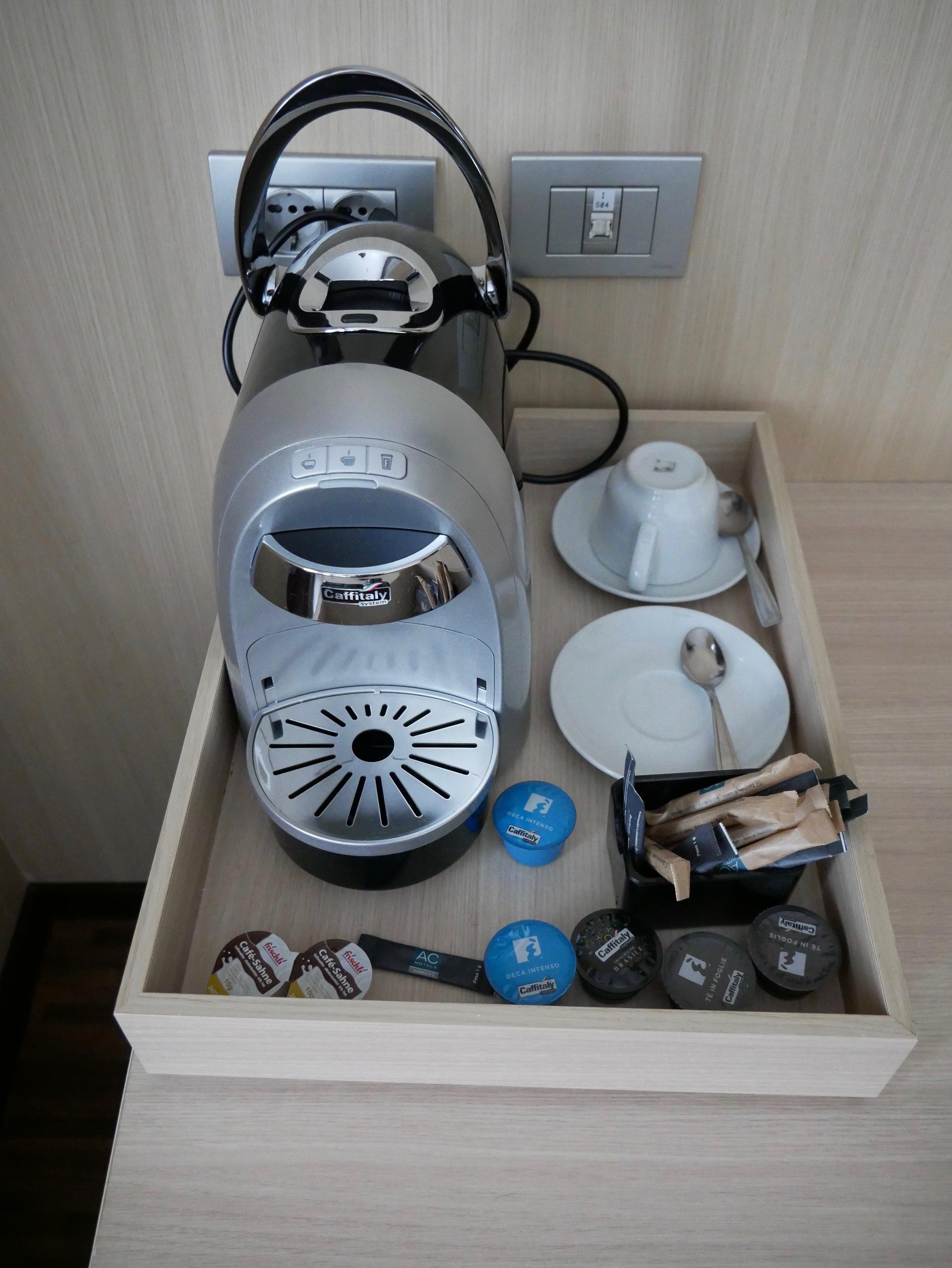 AC Hotel Milano coffee