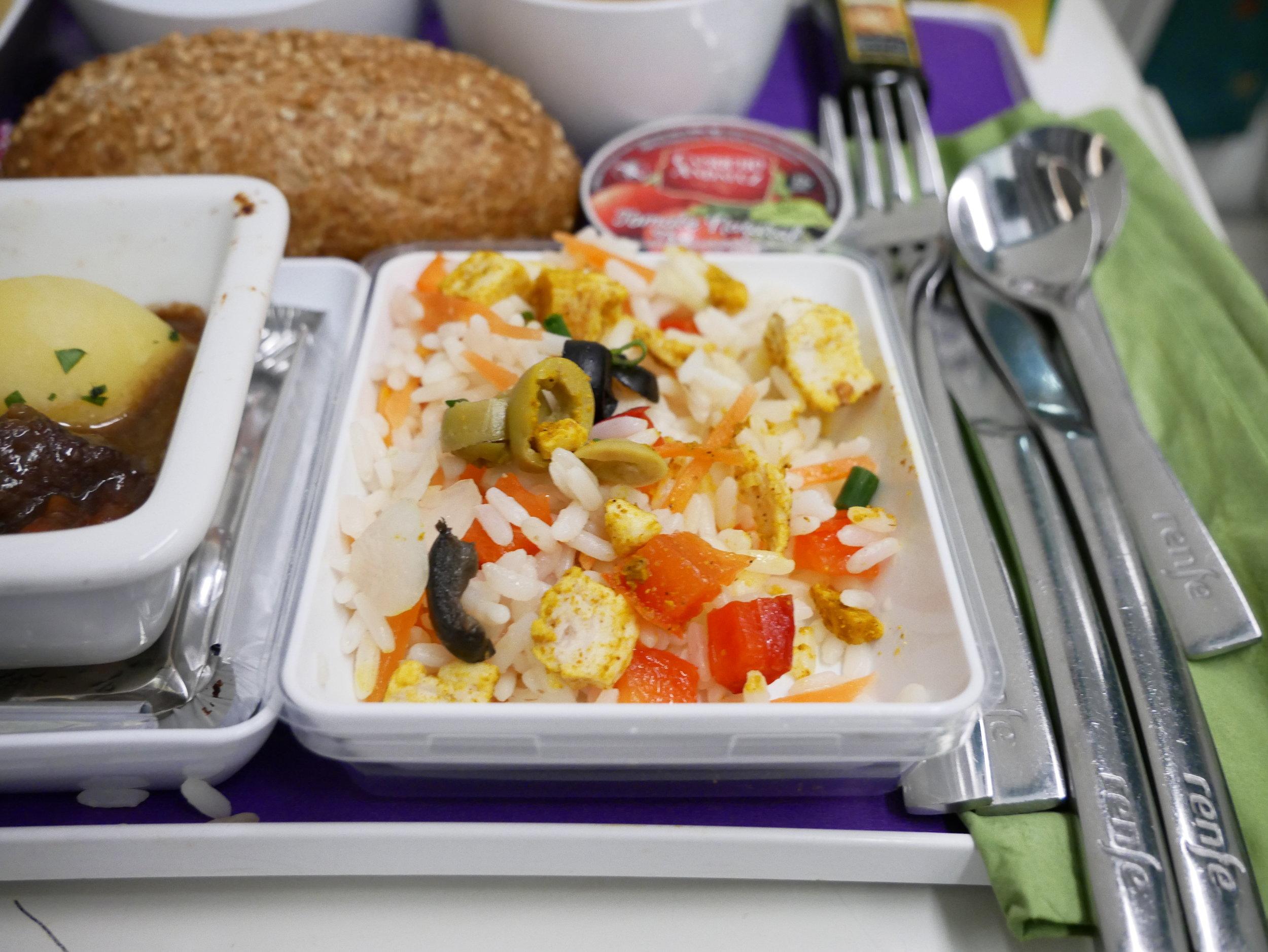 Euromed Preferente rice appetizer
