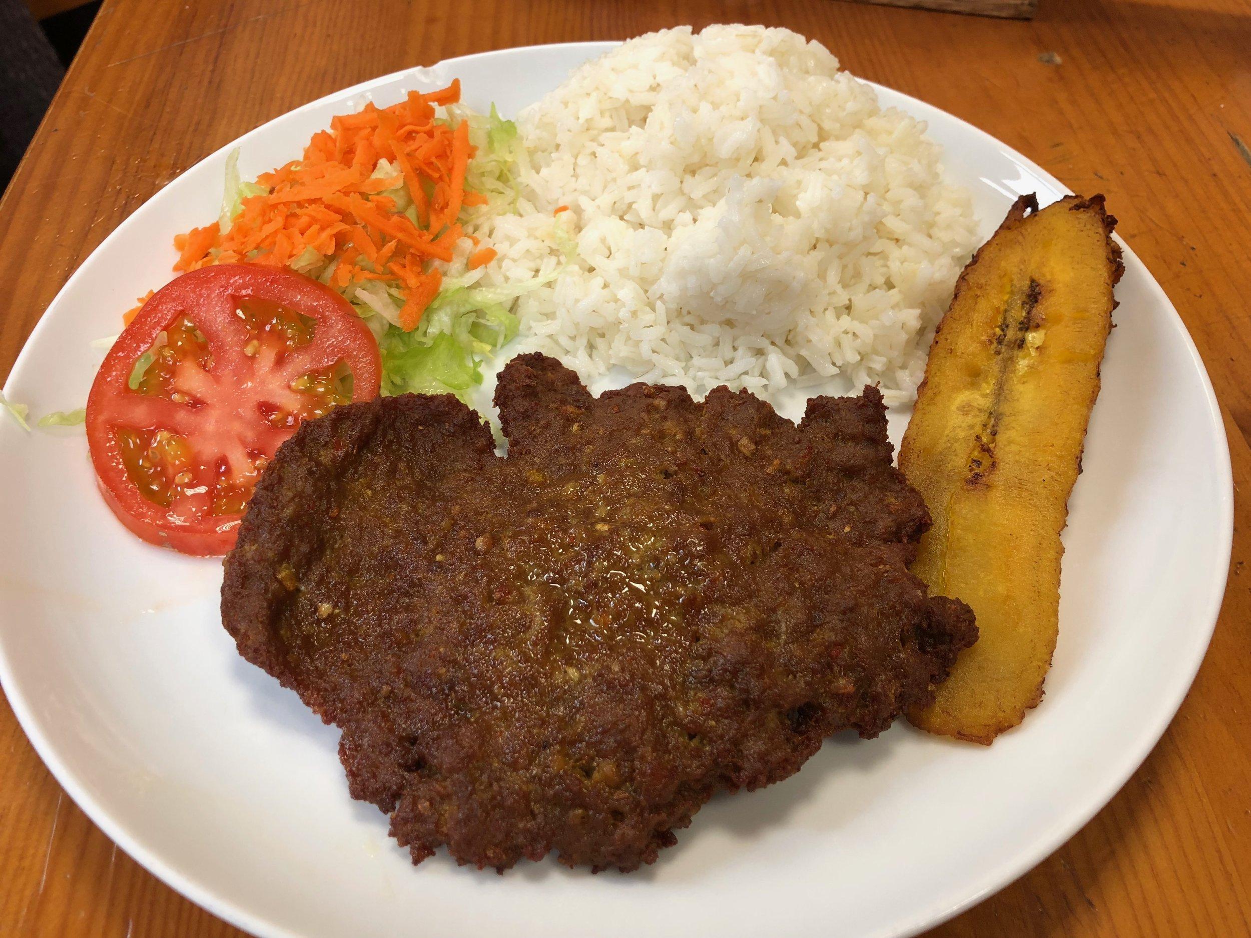 Colombian hamburguesa