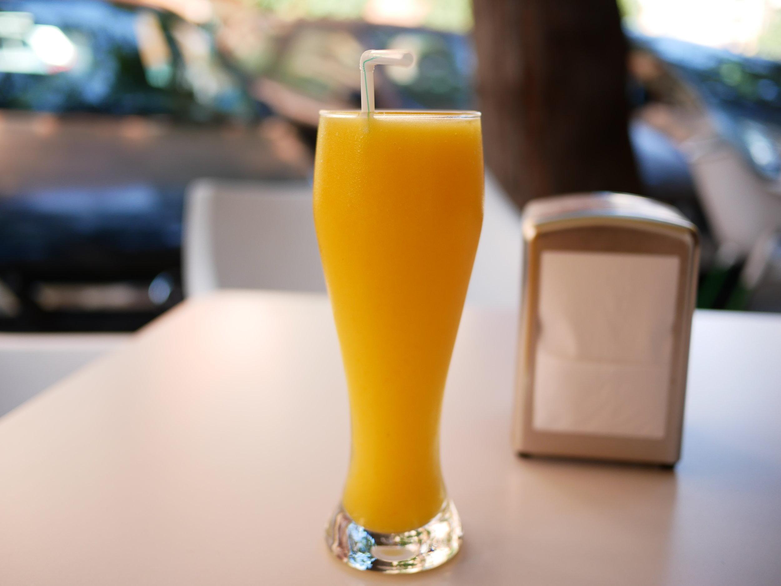 Colombian mango drink