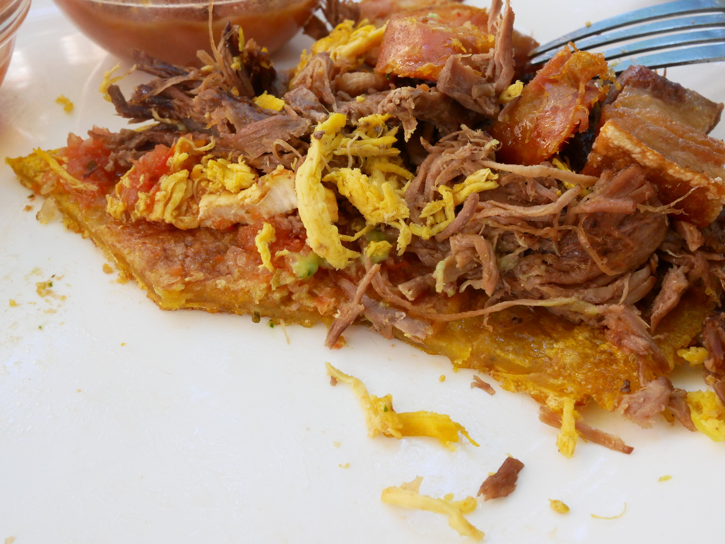 Colombian Patacao Tostao cross section