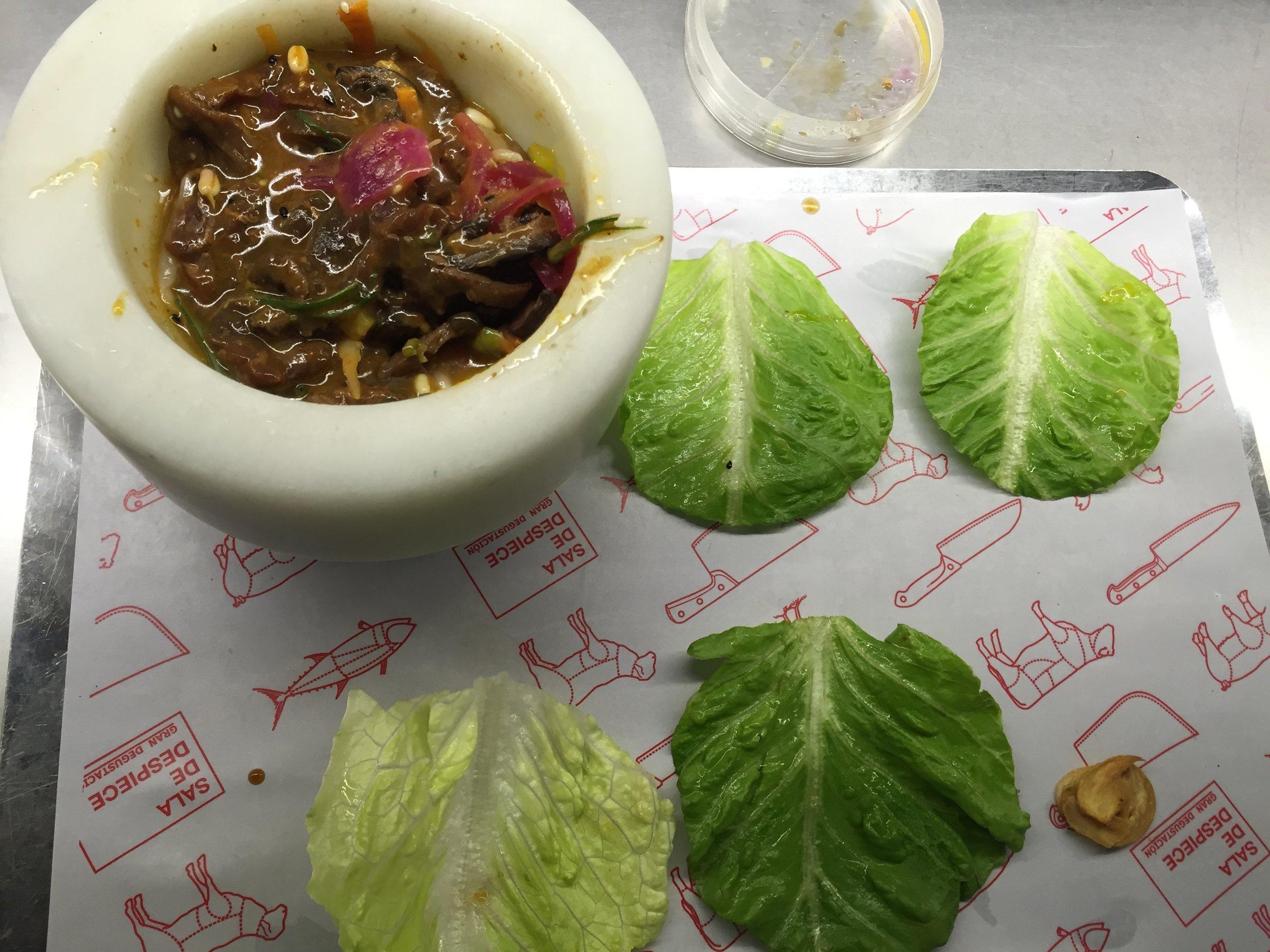 Sala de Despiece Korean beef 3