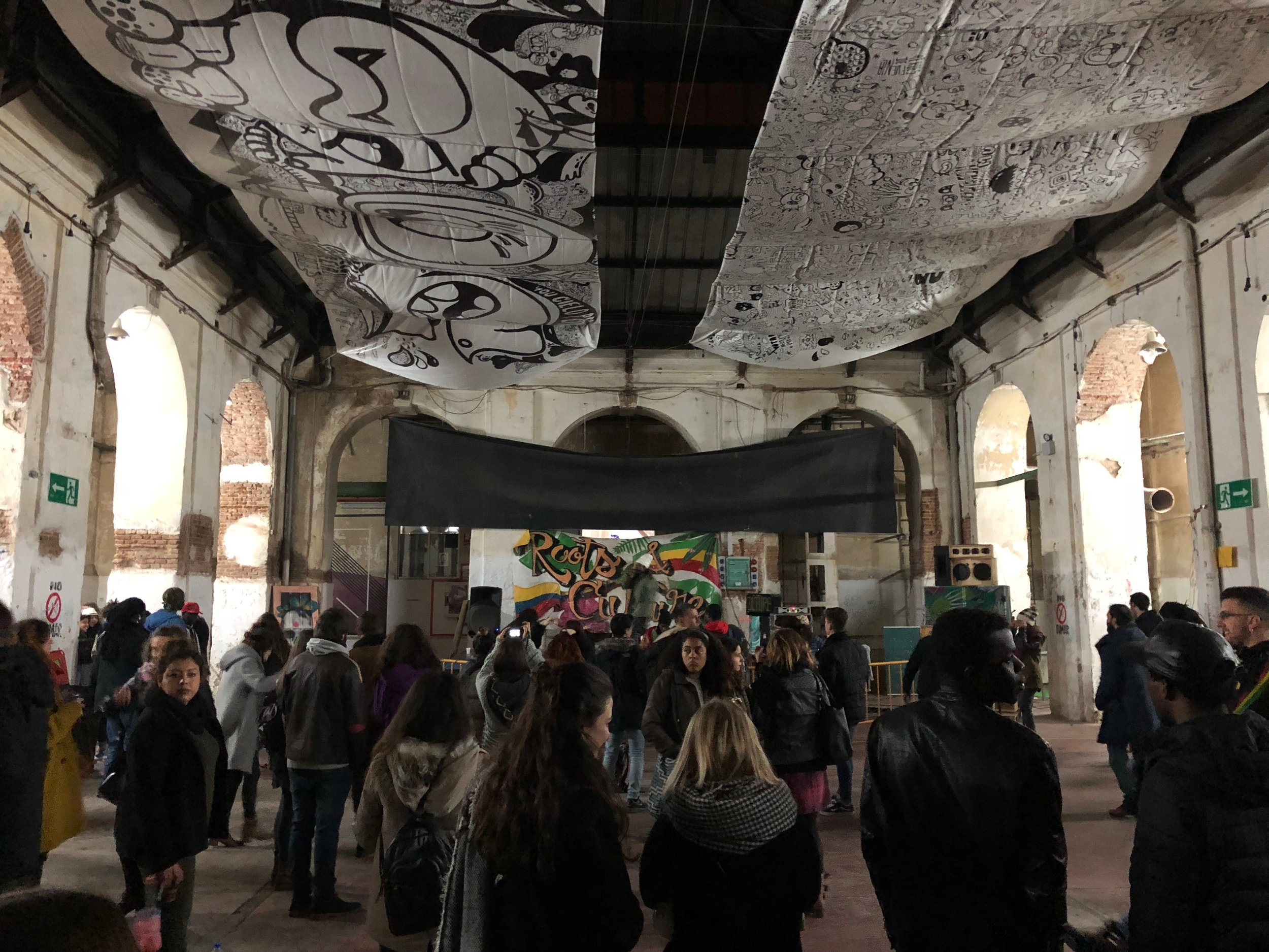Tabacalera performance space