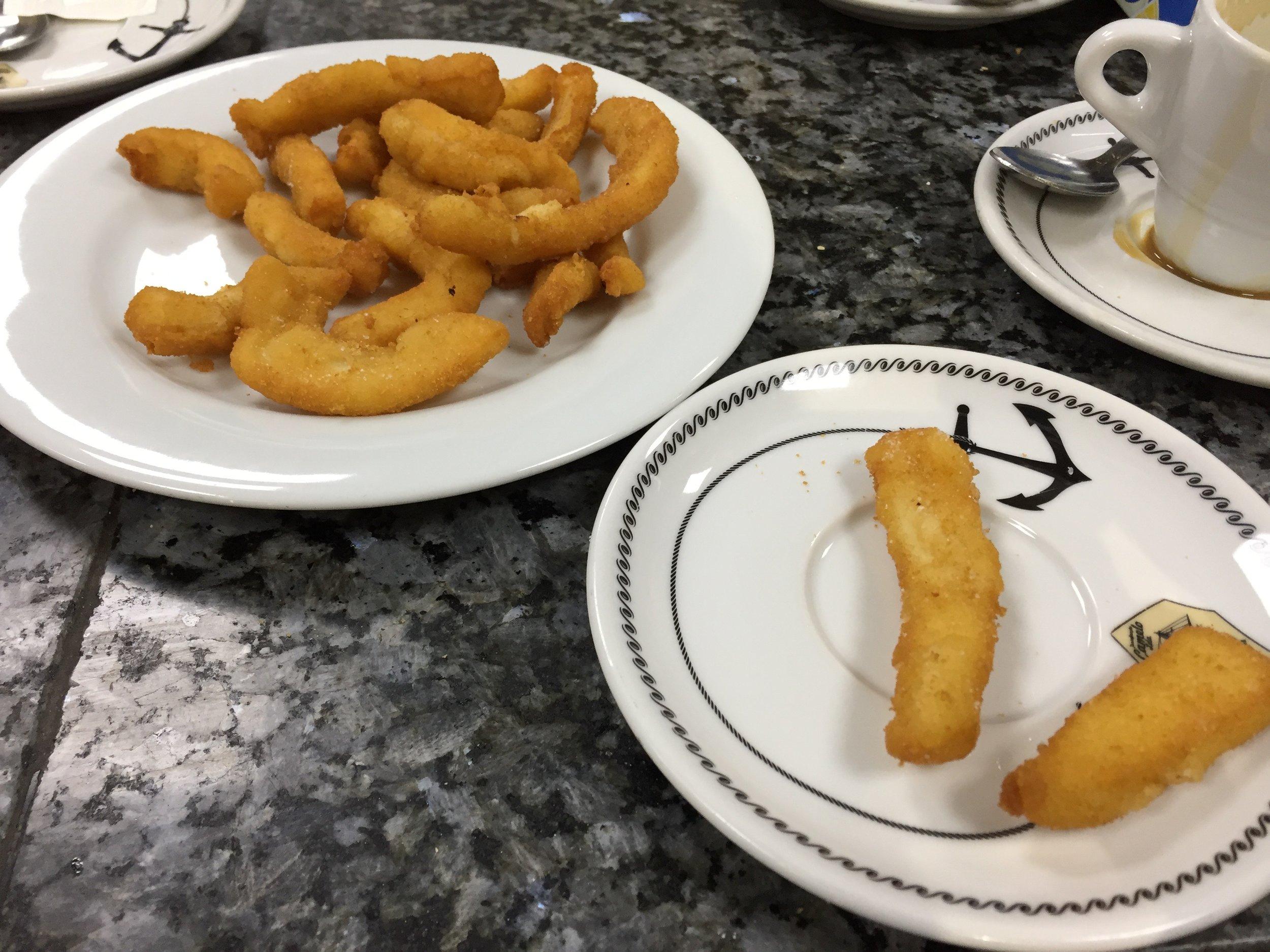 Casa Dani fried calamari