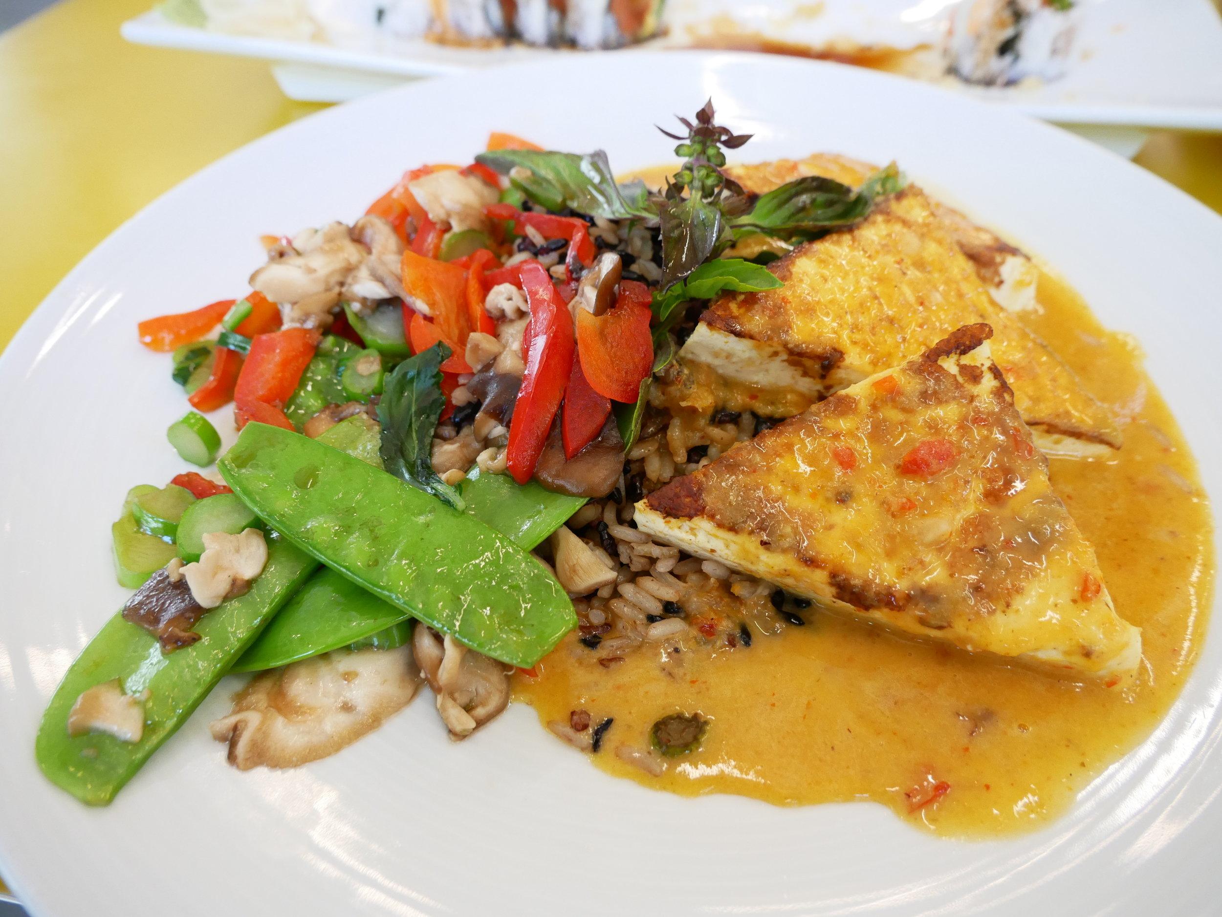 UCSD The Bistro tofu curry