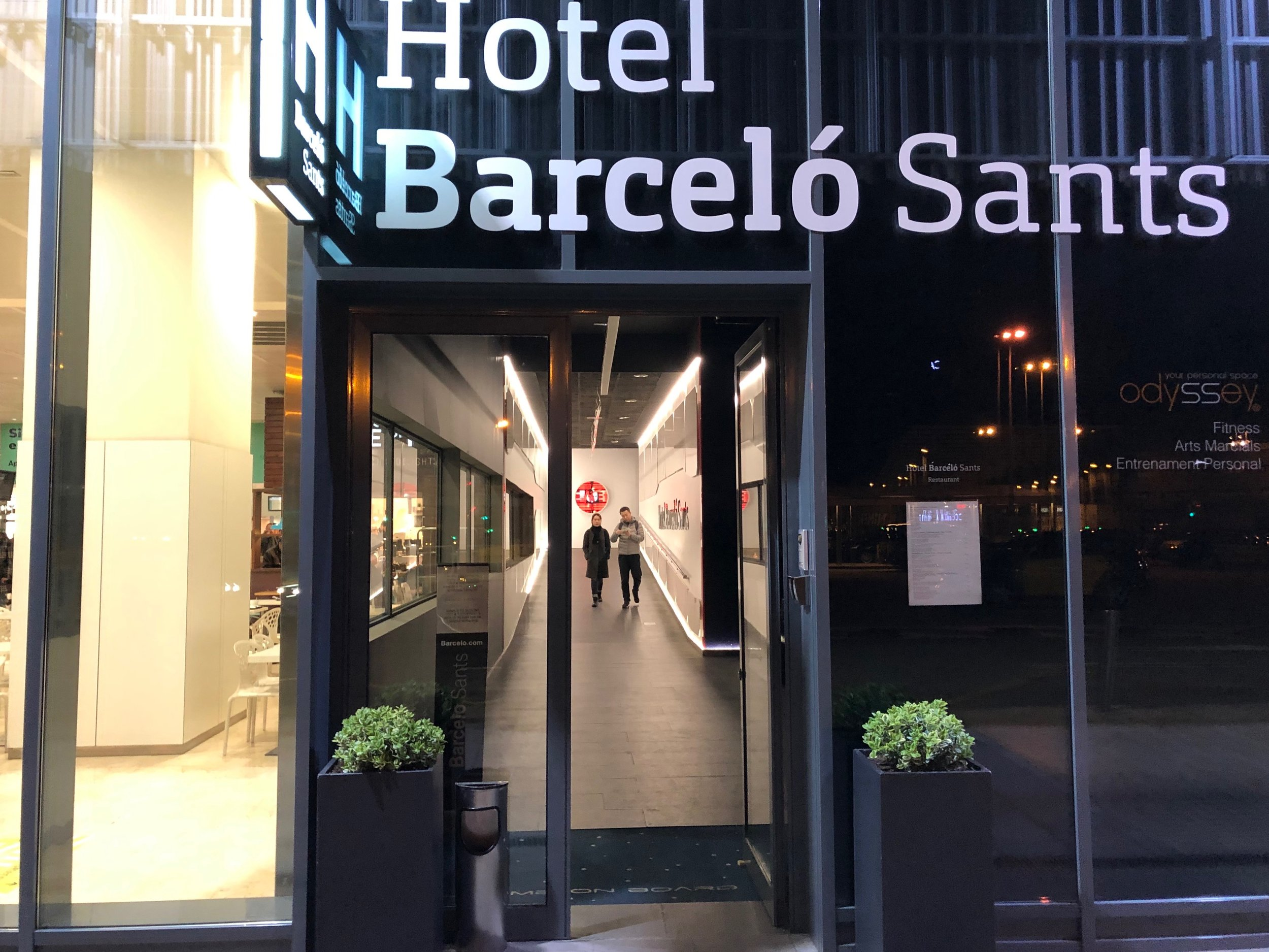 Barcelo Sants entry