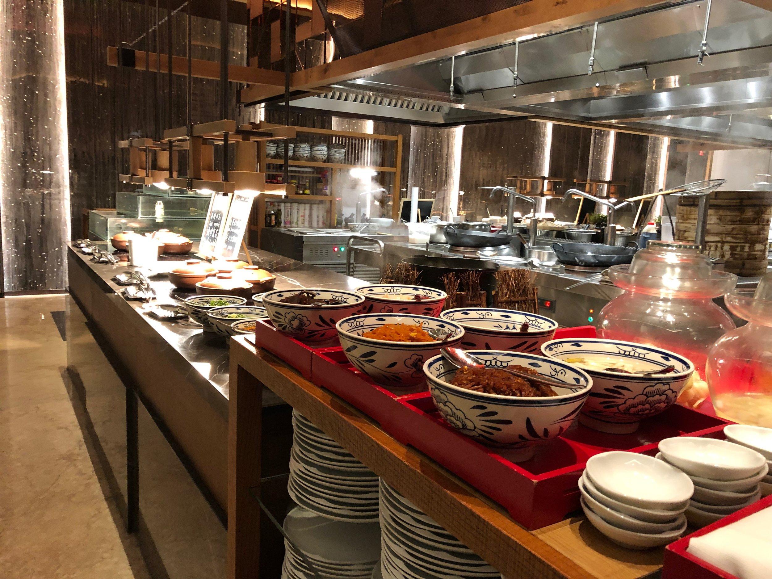 Xian Grand Hyatt breakfast buffet.jpg