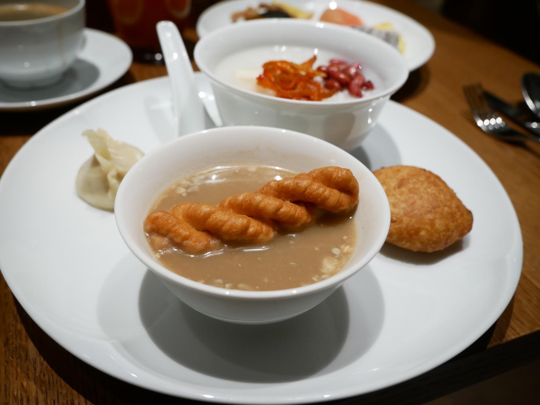 Xian Grand Hyatt breakfast sesame soup 2.jpg