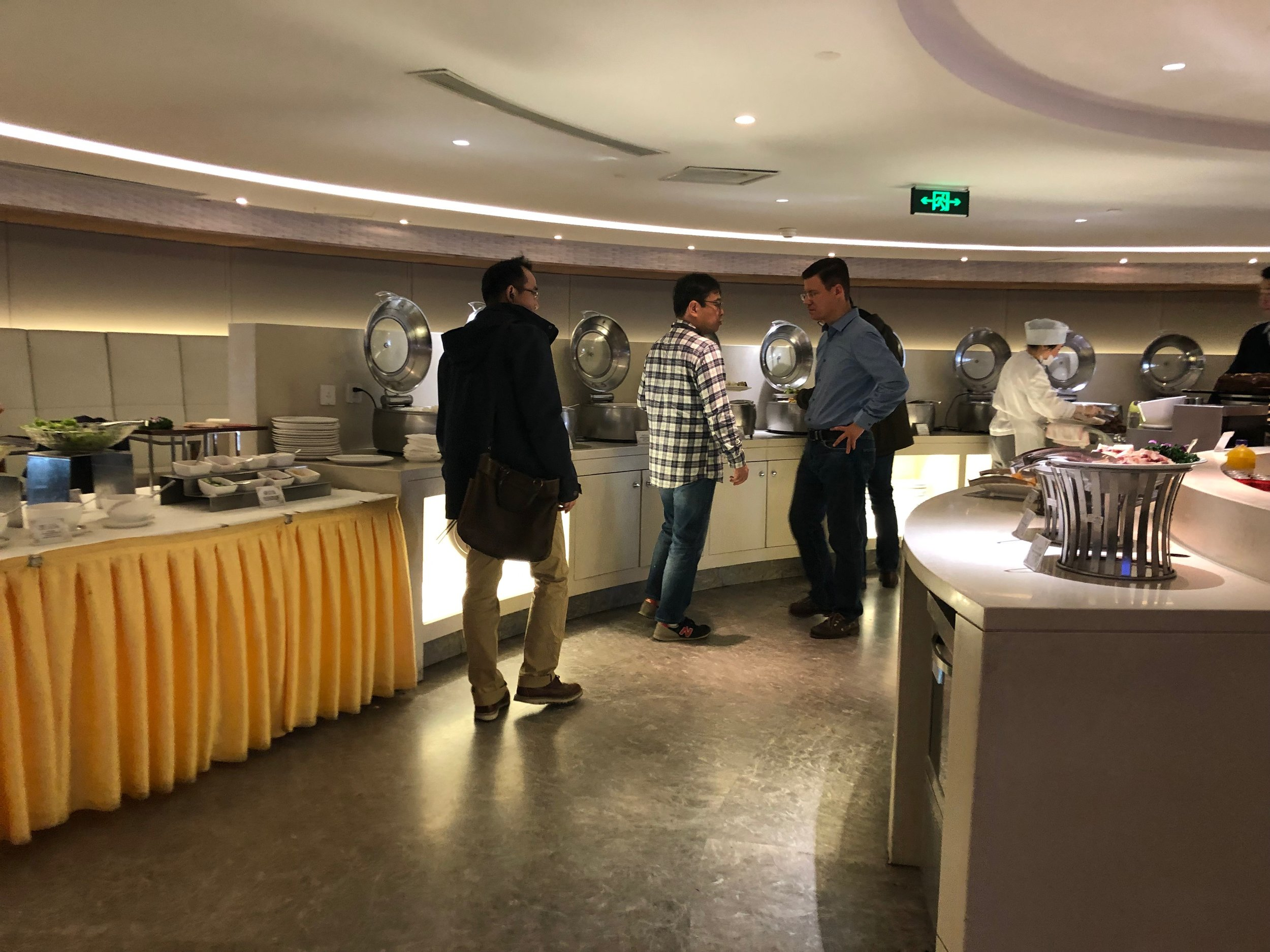 Air China lounge buffet area.jpg