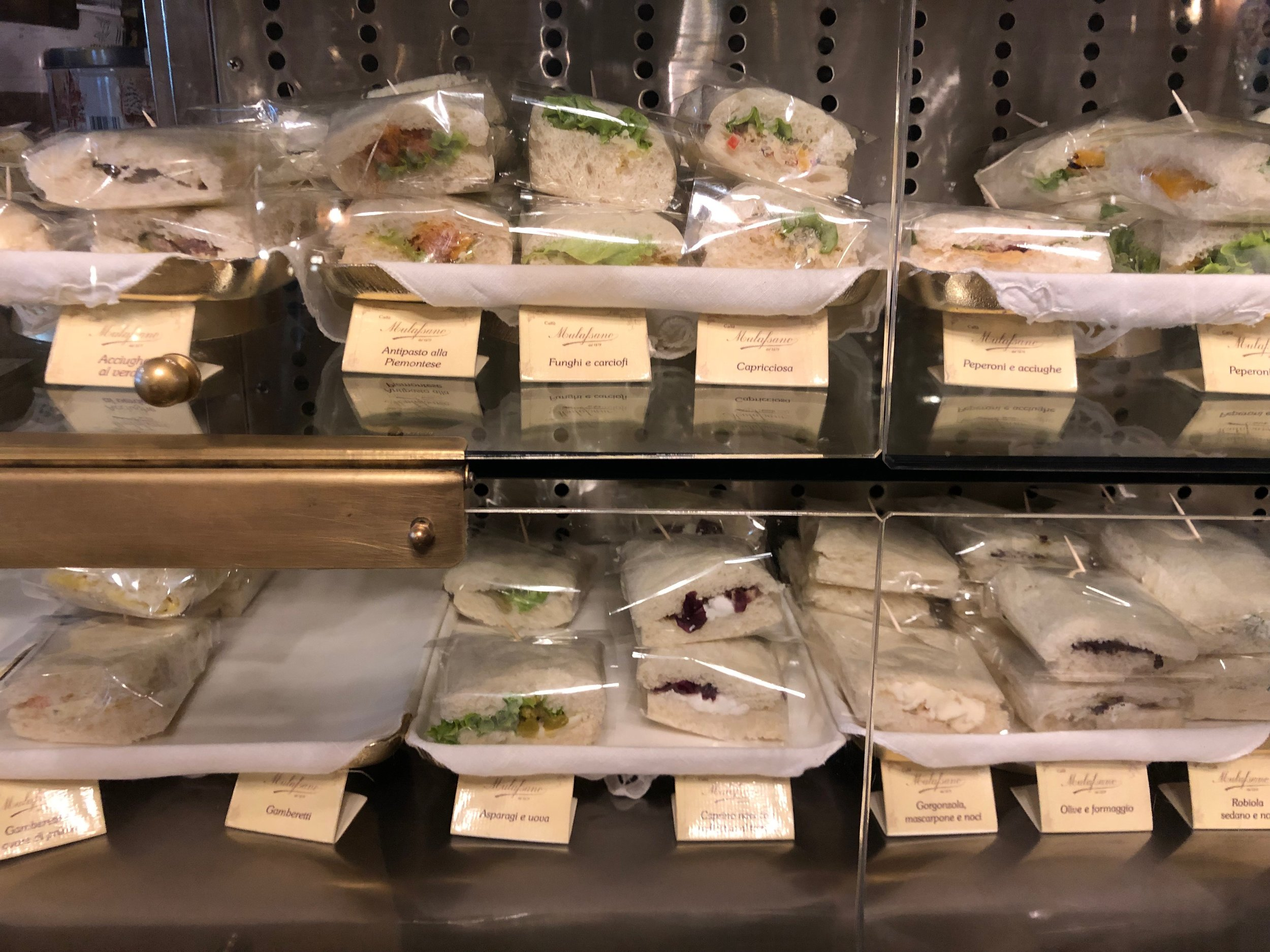 Caffe Mulassano sandwich display.jpg