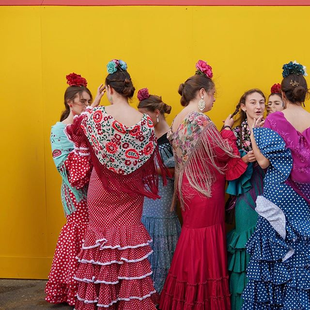 Feria de Abril 💃 (This year in May.) . . . . . #feriadeabril2019 #feriadeabril #sevilla #andalucia #cnntravel #bbctravel #travelandleisure #flamenca #flamenco #polkadots #travelblog #festivalsofspain