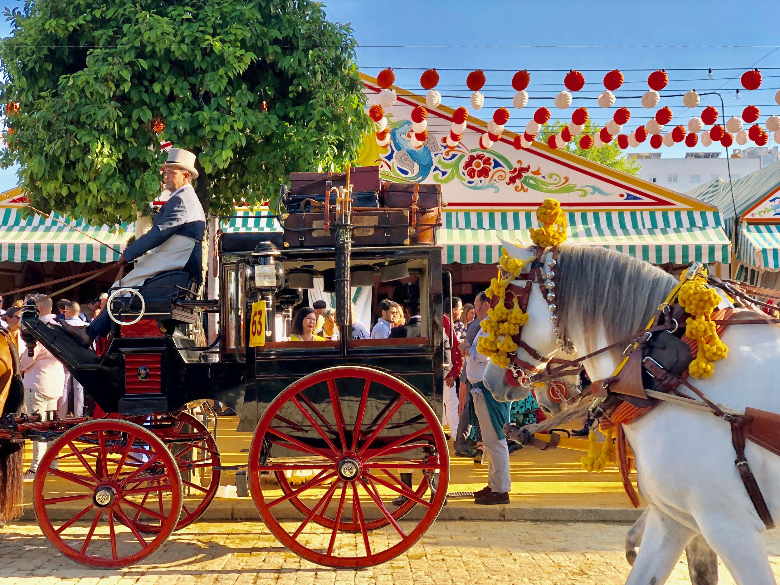 The Feria was really like stepping into another era.