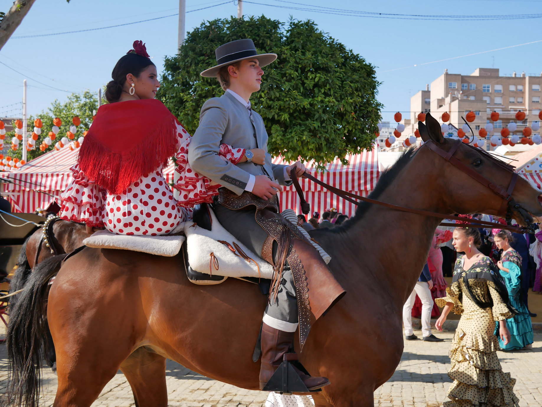 Again, it really struck me how young people were an equal part of Feria participants, showing how it's really a living tradition.