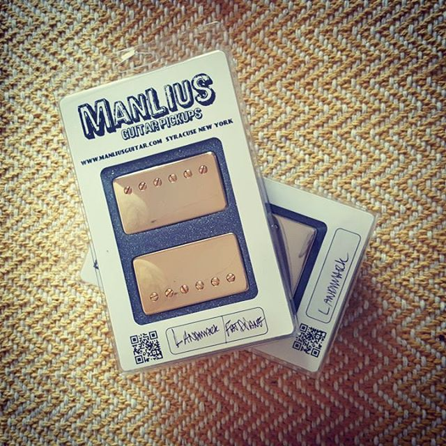 Stoked to have these Manlius Pickups in. Time to doctor some guitars.