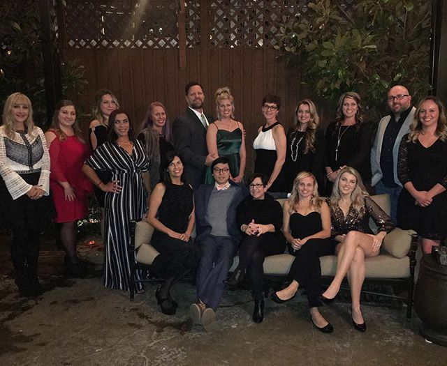 A magical office Christmas party at the House of Cards is in the books. #loveyoursmile #RossviewDental #merrychristmas2018