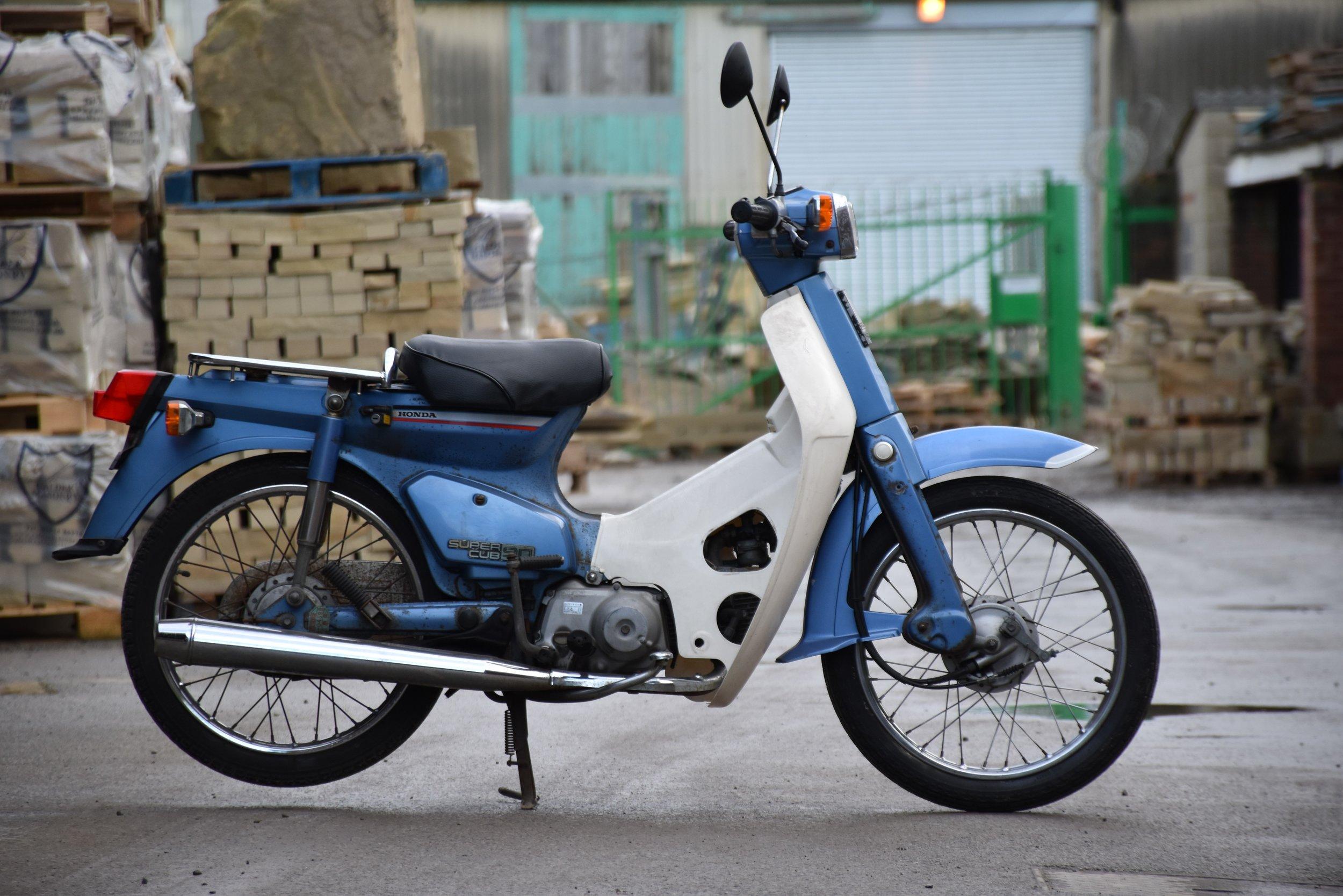 1982 Honda C90 Ref: 0934 £1350