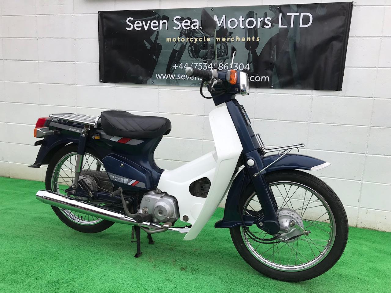 1986 Honda C90 ref 2396