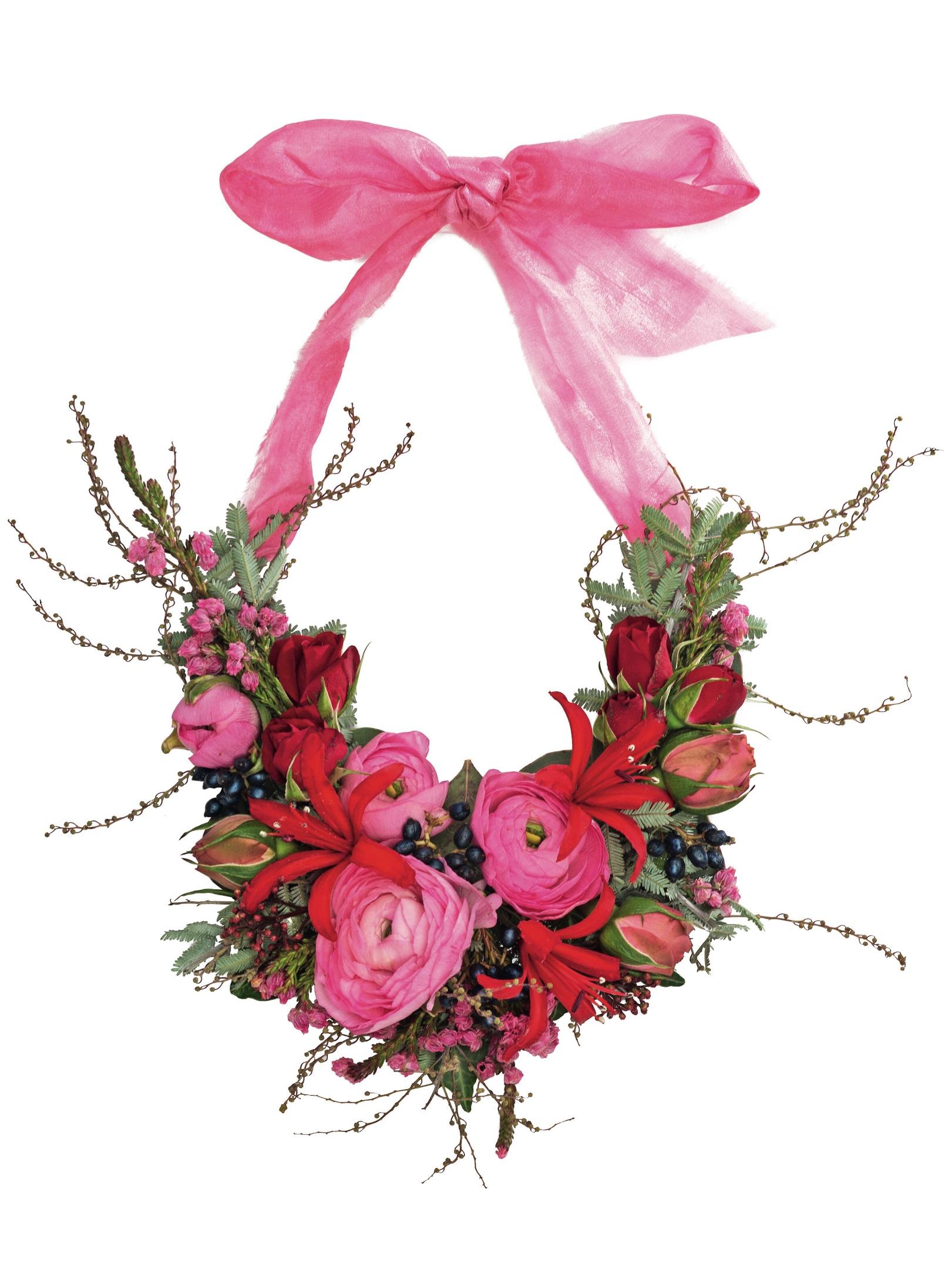 Floral bridesmaid necklace