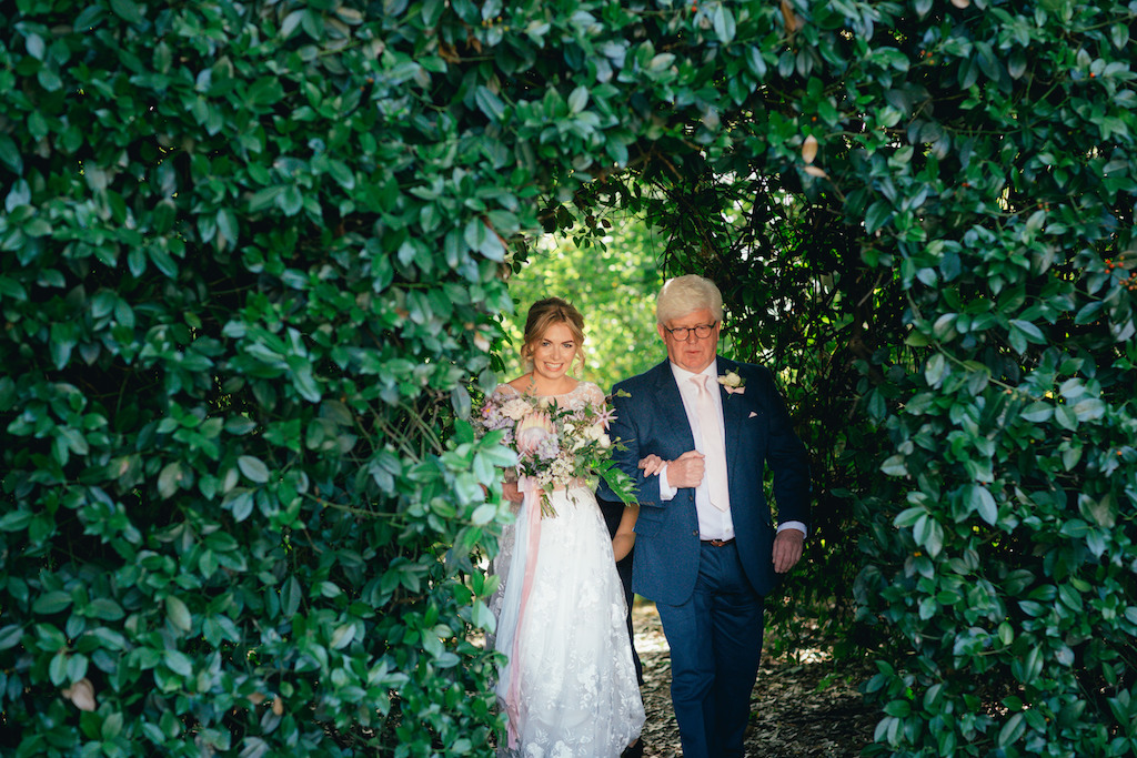 Patel Protea garden wedding by The Flower Story