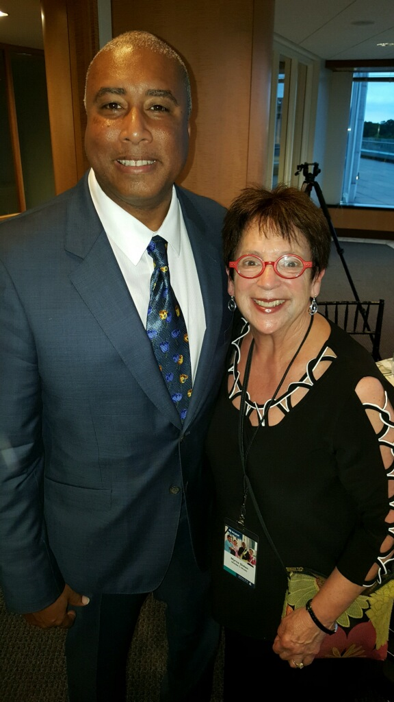 With musician, music education supporter, and Yankee legend Bernie Williams attending the NAMM Fly-In.