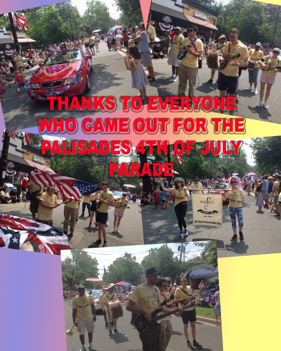 What a great time at the Palisades 4th of July Parade! Thanks to staff, teachers, and friends who joined us.