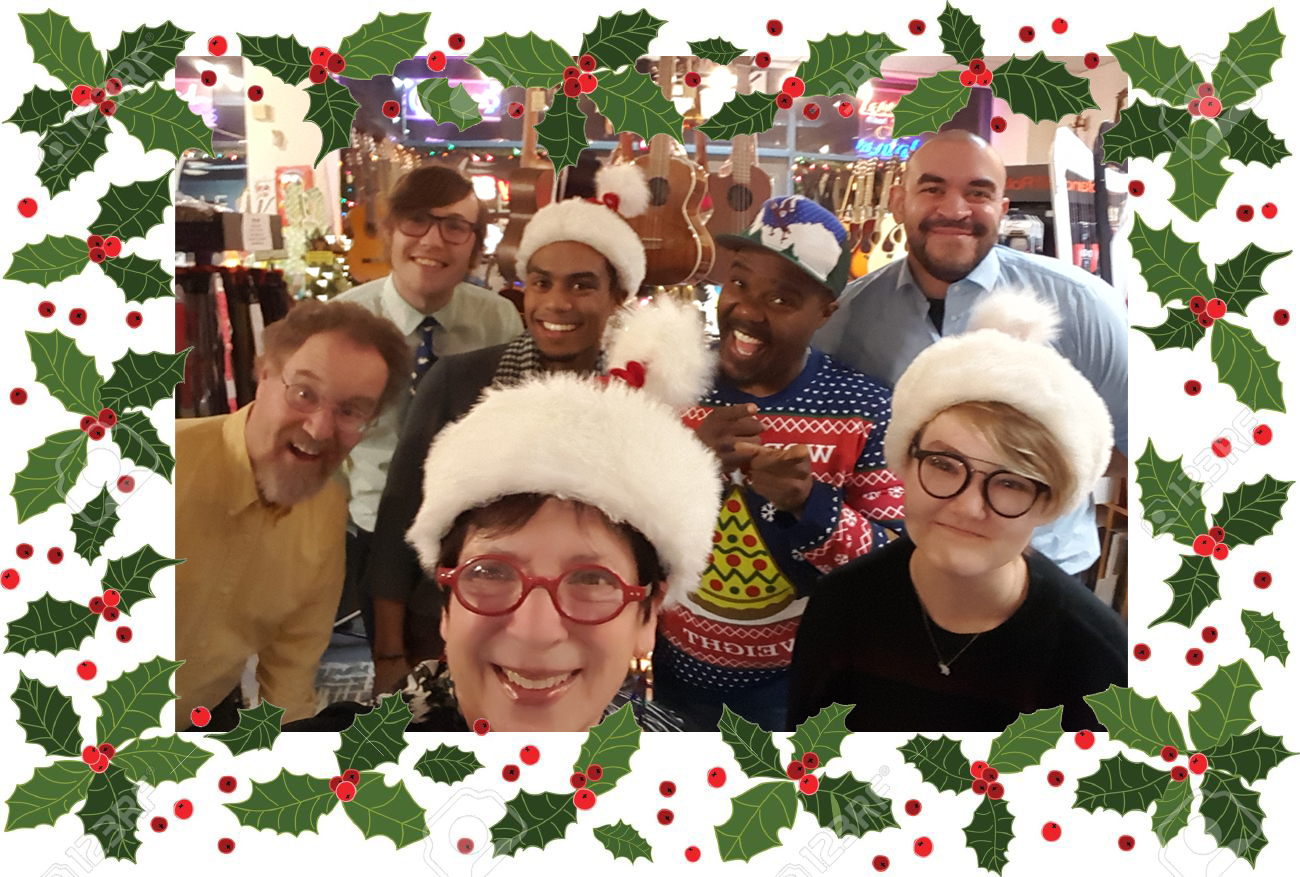 The staff and teachers at Middle C Music wish everyone a happy, healthy, and prosperous new year! We will be closed on Christmas Day and New Year's Day. Open until 3 p.m. Monday, Dec. 24 and 31 and opening at noon on Wed., Dec. 26 and Jan. 2.