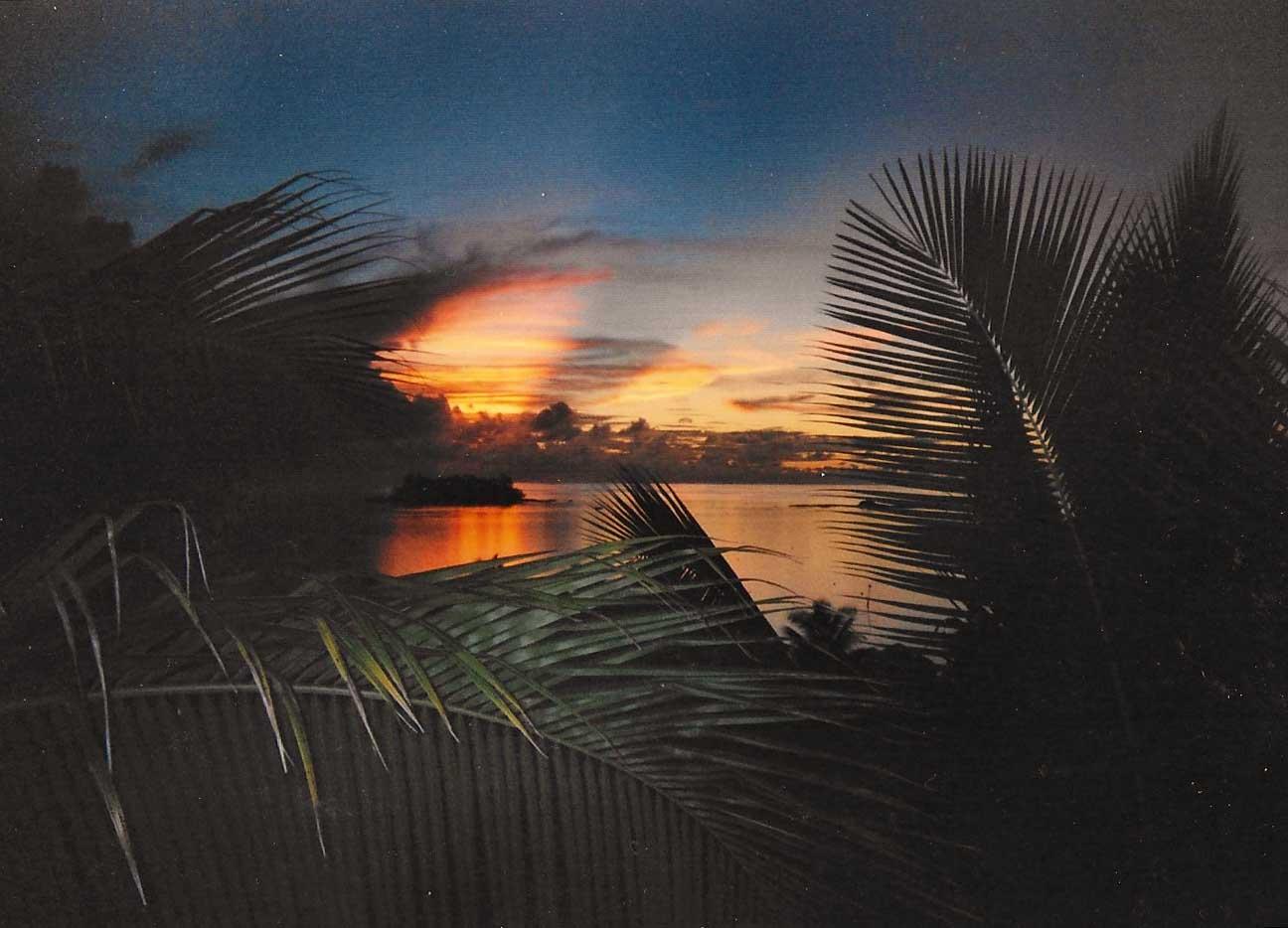 Beachcomber Island, Fiji, 2005.