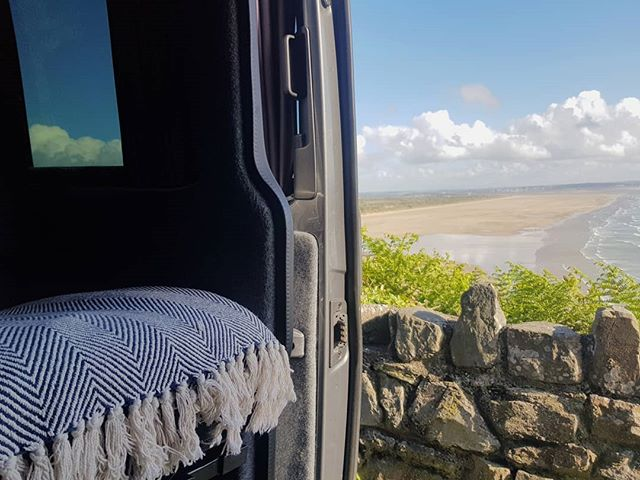 The best front row seat you can get! @byroncampersuk