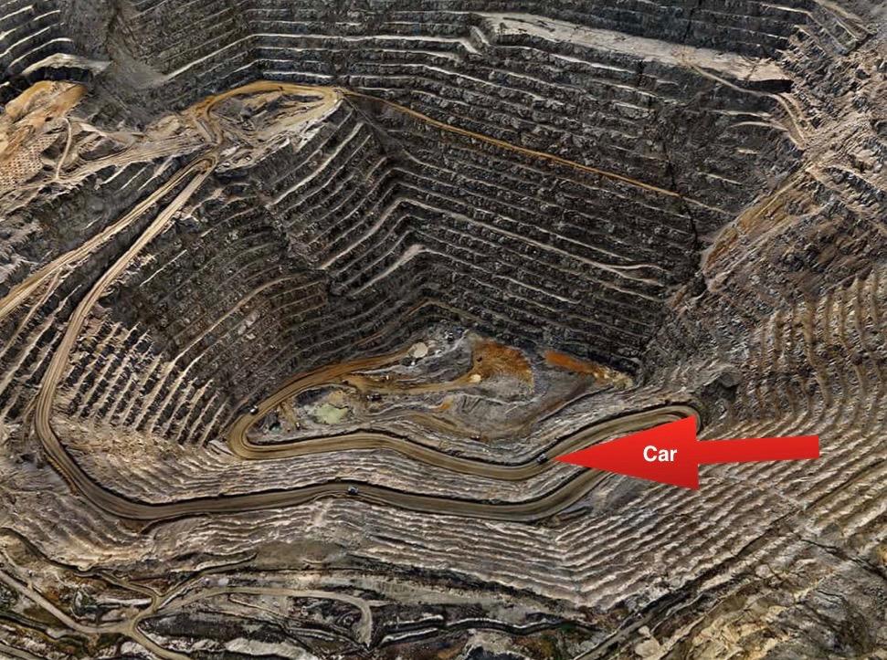 Photo of Open Pit Mining:  The Guardian , Edward Burtynsky, 2016